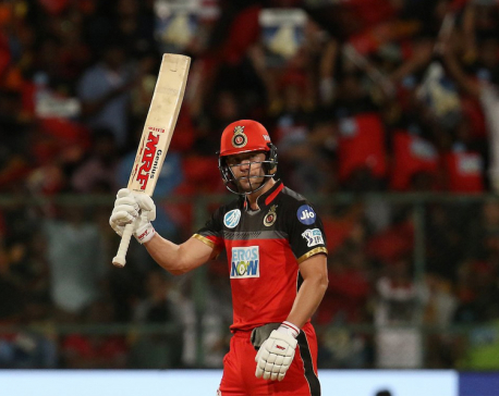 RCB sets target of 219 runs for Sunrisers
