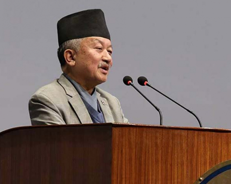 'Off goes the Queen,' Subash Nembang requests in the parliament
