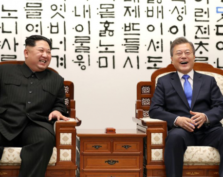 South Korean president met North Korea's Kim Jong Un on Saturday- Seoul