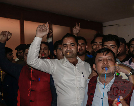 Joint student unions stage whistle rally against school fee hike