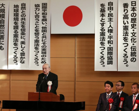 Japan ex-PM Nakasone, witness to war and success, turns 100