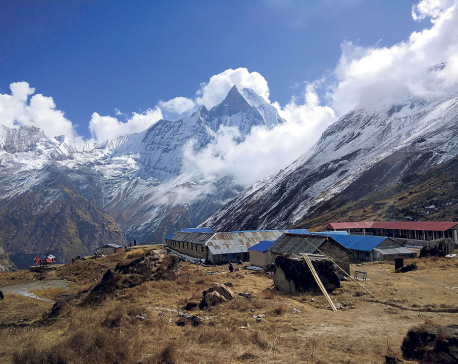 New route to reach Annapurna Base Camp