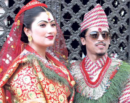 Balchi Dhurbe gets married