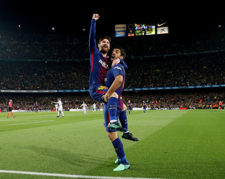 Barcelona Ties Real Madrid in a Heated Clásico