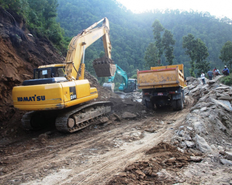 Snail-paced road construction affects reconstruction in Barpak