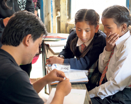 Couple donates $10,000 for child education