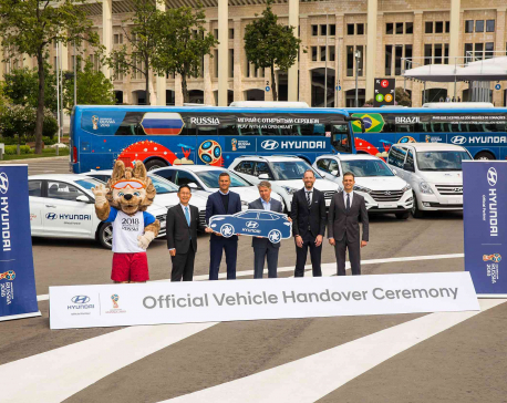 FIFA World Cup 2018 will use 530 Hyundai cars