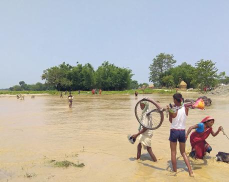 FLOOD ALERT: Chure, Mahabharat range likely to experience flood and landslides
