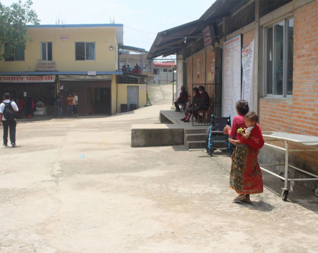 Gorkha Hospital sans specialists since six years