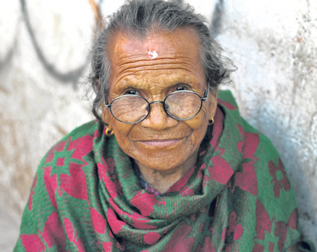 Souls of my city: Grandmother Stories #1 Kanchhi Shrestha