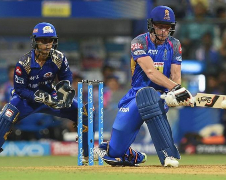 Jos Buttler guides Rajasthan Royals to crucial win vs Mumbai Indians