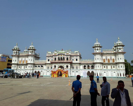 Setting the stage: Welcoming Narendra Modi in Janakpur