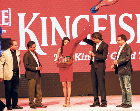 Kingfisher Beer launched in Nepal