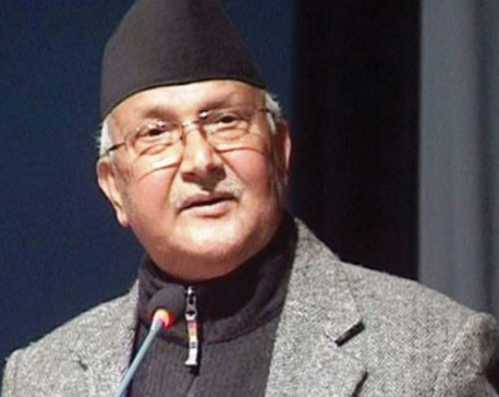 Party unification has created strong basis for development and prosperity: PM Oli