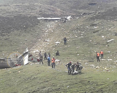 2 die in Makalu Air plane crash