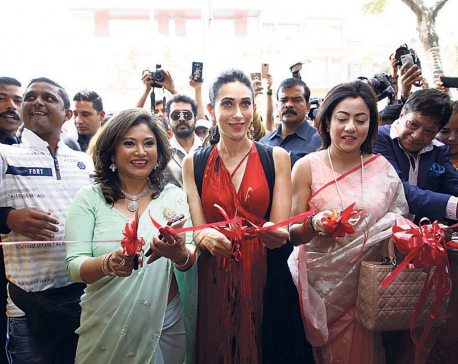 Karishma Kapoor in town, after 15 years