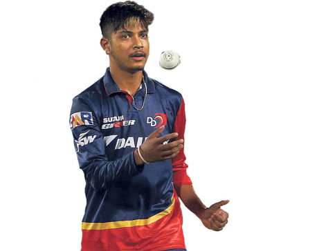 Cricketer Lamichhane wins 'Best Youth Player of the Year'