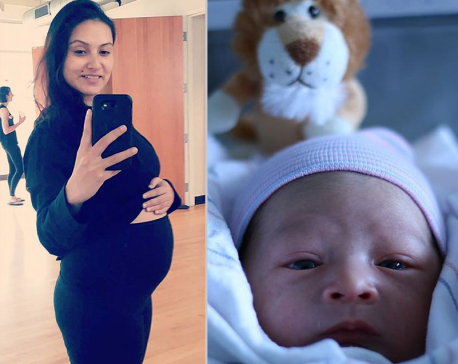 Nisha, Sharad blessed with baby boy