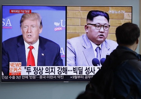 Trump welcomes N. Korea plan to blow up nuke-site tunnels