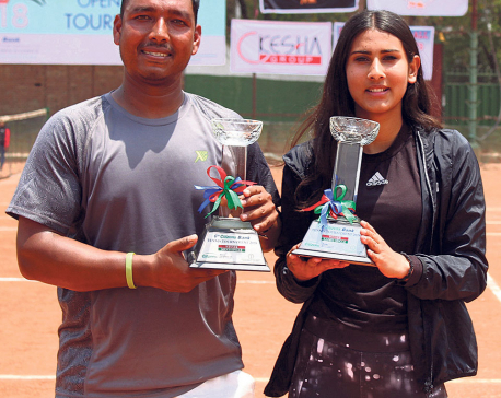 Pariyar, Koirala lift singles titles