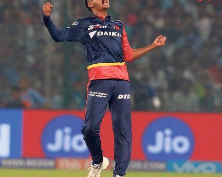 Sandeep Lamichhane makes it to ICC World XI