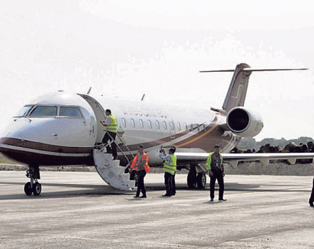 CAAN conducts successful test flight at Rajbiraj airport