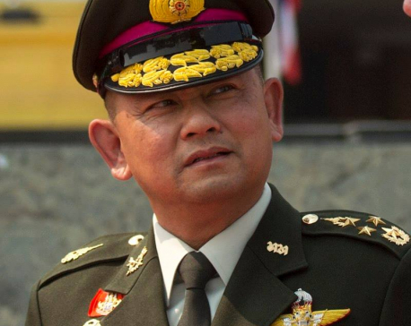 Thai Army Chief to arrive Wednesday