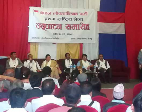 Nepal Loktantrik Party formed comprising dissidents of then MPRF-D