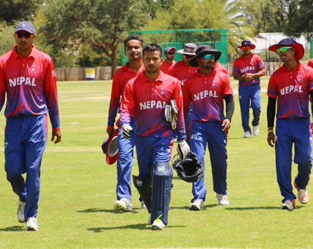 """Only a beginning"" - Khadka dreams of more ahead of Nepal's first ODI"