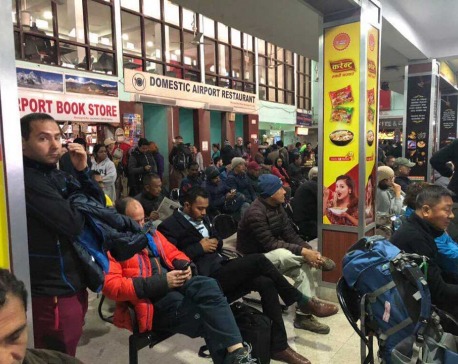 Bad weather affects domestic flights at TIA