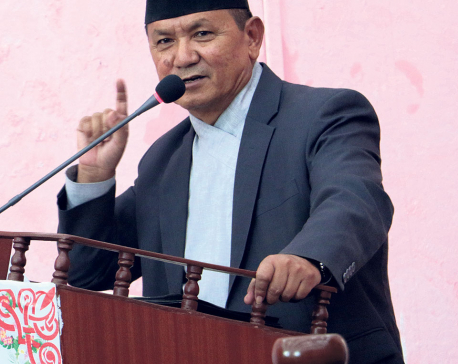 Gandaki CM threatens to shut down illegal crusher plants