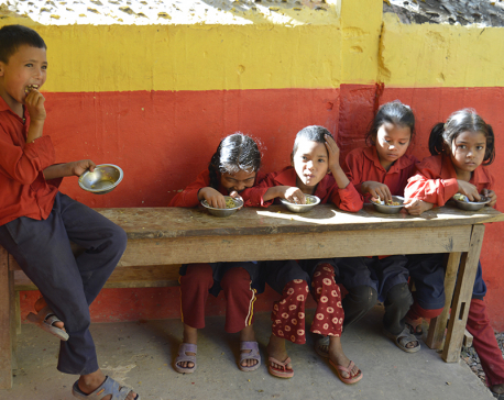 Mid-day meal adds number of students in schools