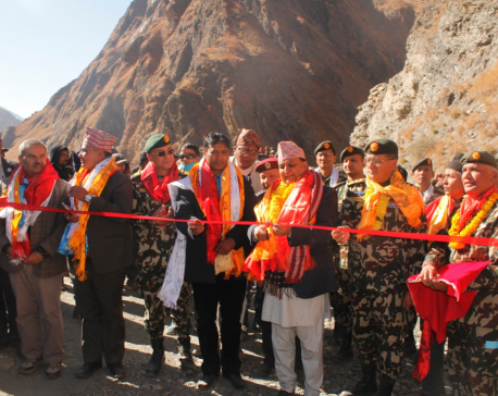 No more remote: Road reaches Dolpa