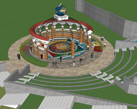 Construction of Earthquake Memorial Park yet to pick up the pace