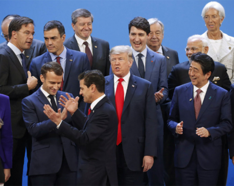 Trump vs the world _ G-20 summit stumbles on trade, climate