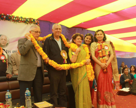 Koirala trio commit to remain united for party legacy