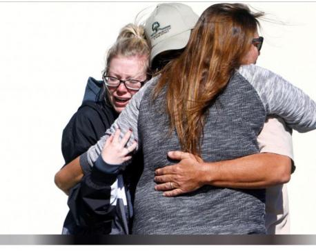 Gunman kills 12 including officer in California bar