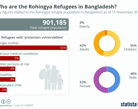 Infographics: Who are the Rohingya refugees in Bangladesh?