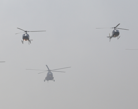 Army Day rehearsal, bad weather affect TIA flights