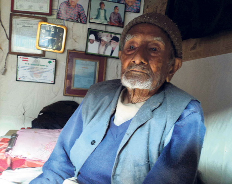 Freedom Fighter Bajimay dies at 105