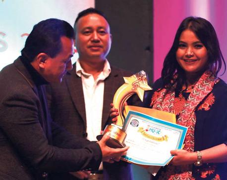 Universal Dental Sagarmatha Music Award concludes