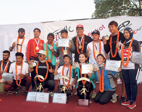 Korea wins Paragliding Accuracy WC, Nepal third in team event
