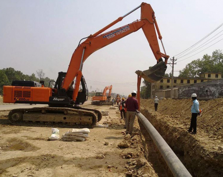 Nearly 50 percent of petroleum pipeline works completed
