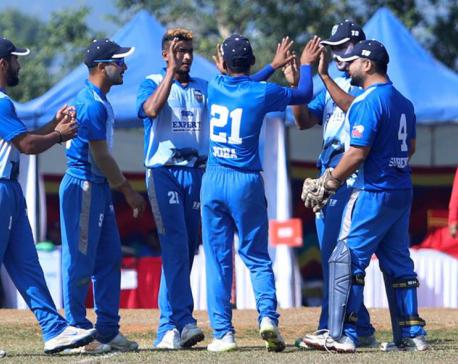 Dhangadi Blues defeats Pokhara Paltan by 2 wickets