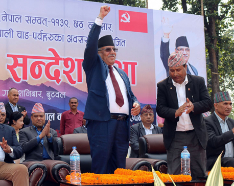 Government will gain momentum after laws formulation: chair Dahal