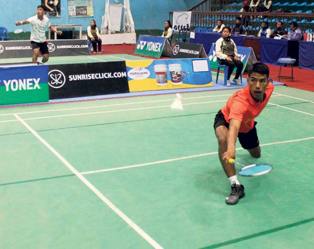 Tamang, Dhami into last eight of Pushpalal Open Badminton