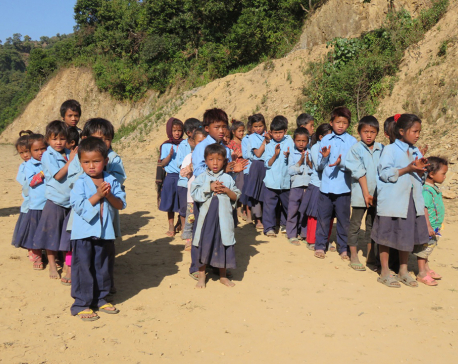 In lack of school nearby, Chepang kids dropping out of schools