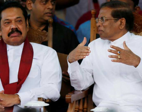 U.S. and others denounce dissolution of Sri Lanka parliament as undemocratic
