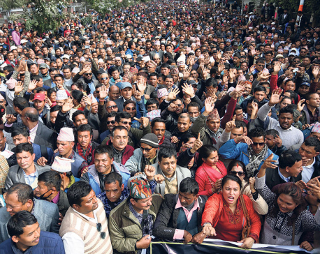 Teachers' protest affects education at govt schools in Valley