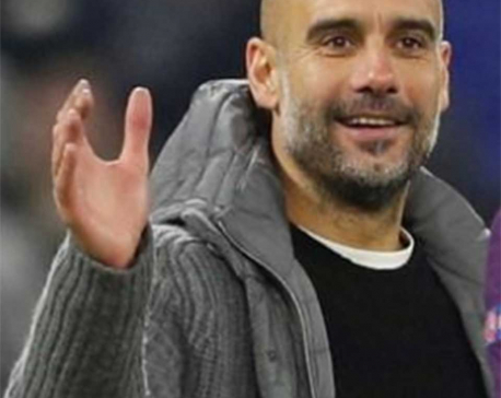 Guardiola given reminder of uphill task in Europe